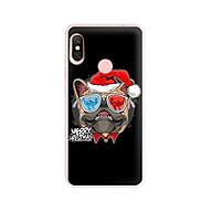 Ốp lưng dẻo cho điện thoại Xiaomi Mi A2 Lite - 01132 7939 BULLDOG03 - Bulldog chúc mừng Giáng Sinh - Hàng Chính Hãng thumbnail