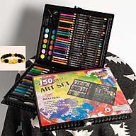 Bộ hộp bút chì màu 150 chi tiết trẻ em TẶNG VÒNG ĐEO TAY GIÁ TRỊ thumbnail