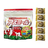 Sữa Asumiru Nhật Bản 180g ( vị cacao ) - Phát triển Chiều Cao Vượt Trội ( cho bé 3-16 tuổi ) Tặng 05 bán quy Nhật Bản hiệu Aee thumbnail