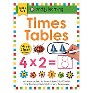 Wipe Clean Workbook Times Table 1-12 thumbnail