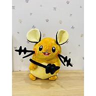 Gấu bông Pokemon chuột điện Dedenne - Tặng kèm móc khóa Pokemon cao cấp thumbnail