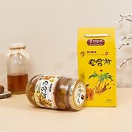 Trà mật ong chanh Miwami Hàn Quốc Honey Citron Tea - khắc phục hiệu quả ho, viêm họng, thúc đẩy tiêu hóa, đào thải độc tố, làm đẹp da, tăng cường sức đề kháng thumbnail