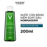 Nước Cân Bằng Vichy Se Khít Lỗ Chân Lông Dành Cho Da Dầu Mụn Normaderm Purifying Pore-Tightening Lotion 200ml thumbnail