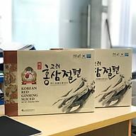 Combo 2 Hộp Hồng Sâm Thái Lát Tẩm Mật Myeong In Hàn Quốc - Myeong In Sliced Korean Red Ginseng thumbnail