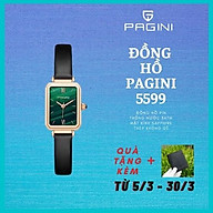 Đồng Hồ Nữ Thương Hiệu PAGINI PA6624G - Thiết Kế Mặt Vuông Độc Đáo - Hàng FullBox - Tinh tế - Trẻ trung thumbnail