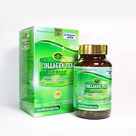 Viên uống Diệp Lục Collagen HDPHARMA làm đẹp da, chống lão hóa, ngừa nếp nhăn - Hộp 60 viên thành phần Vitamin E, Isoflavon, sữa ong chúa, nhai thai cừu thumbnail