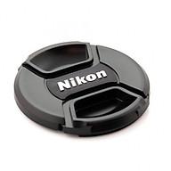 Nắp ống kính Nikon 49,52,58,62,67,72,77,82mm hàng nhập khẩu thumbnail