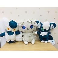 Gấu bông Pokemon Nyaonikusu Combo 3 cấp tiến hóa - Tặng kèm móc khóa Pokemon cao cấp thumbnail