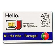 Sim Du lịch Bồ Đào Nha - Portugal 4G tốc độ cao thumbnail