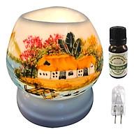 Combo tinh dầu sả chanh Eco oil 10ml cùng đèn xông tinh dầu tam giác TG13 thumbnail