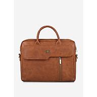 Túi xách Laptop da nam nữ 15 nắp vạt xéo thanh lịch IDIGO MB2-6012-00 thumbnail