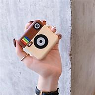 Airpods Pro Case Ốp Bảo Vệ Cho Airpods Pro Hình Pro Instagram _Tặng Kèm Móc Khóa Dây Da thumbnail