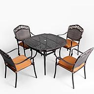 Bộ bàn ghế ngoài trời cao cấp chất liệu nhôm đúc thumbnail