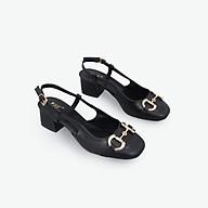 Giày Cao Gót 3cm Mũi Vuông Gắn Khoá Pixie X773 thumbnail