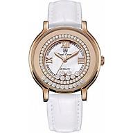 Đồng hồ nữ chính hãng Royal Crown 3638ST-RG trắng thumbnail