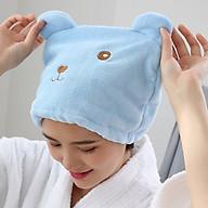 Mũ Trùm Tóc Siêu Thấm Hút Mau Khô Tóc thumbnail