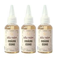 Combo 3 chai Dầu Tràm Nguyên Chất Chai Nhựa Hoàng Cung Huế (50ml chai) thumbnail