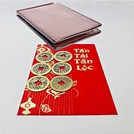 Bộ 6 Đồng Tiền Xu Cổ Bỏ Ví Chiêu Tài Lộc thumbnail