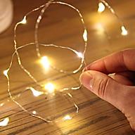 [Đầu cắm USB] Đèn đom đóm chipsbling dây đồng phủ cách điện màu Sliver thanh nhã thumbnail