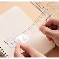 Thước Kẻ M&G ARL960H1 15cm dạng dẻo ,thân trắng , ở giữa có khung hình - 1 cây thumbnail