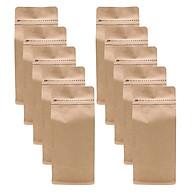 Túi Zip Giấy Kraft Đáy Bằng Pocket (10.5 x 24.5 cm) thumbnail