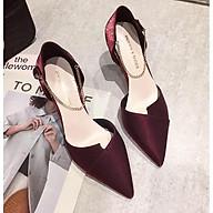 Giày Cao Gót Nữ Mũi Nhọn Gót 8cm Thời Trang Cao Cấp MPS82 - Mery Shoes thumbnail