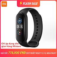 Vòng Đeo Tay Thông Minh Xiaomi Band 5 Chống Nước Có Chức Năng Đếm Bước Chân Và Phụ Kiện thumbnail