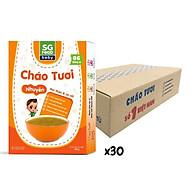 Thùng cháo tươi nhuyễn Sài Gòn Food thịt thăn & cà rốt 150g x 30 hộp thumbnail