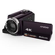 Máy Quay Phim Andoer HDV-534K 4K Kết Nối Wifi Màn Hình Cảm Ứng (48MP) (3 Inch) (16X Zoom) (Chip 96660) thumbnail