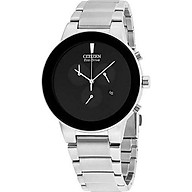 Citizen Men s AT2245-57E Eco-Drive Axiom Black Stainless Steel Watch thumbnail
