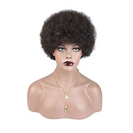 8 Women s Short Afro Curly Hair Wigs for Black Women Soft Natural Looking Hair Styling Wigs Hair Accessories thumbnail