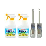 Combo Chổi cọ toilet siêu sạch (đầu vuông) + Chai Xịt Baking Soda Rocket Kobini Nhật Bản (400ml) - Nội Địa Nhật Bản thumbnail