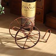 Kệ để Chai Rượu Vang Mẫu Mới Hình Bánh Xe thumbnail