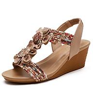 Giày quai ngang nữ giày sandals nữ dép quai hậu nữ cao 5 cm -Mã 320-324 thumbnail