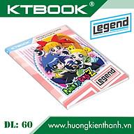 Gói 5 cuốn Tập Học Sinh Cao Cấp Giá Rẻ Legend giấy trắng ĐL 60 gsm - 200 trang thumbnail