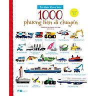 Sách - Từ Điển Khoa Học - 1000 Phương Tiện Di Chuyển (tặng kèm bookmark thiết kế) thumbnail