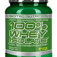 100% WHEY PROTEIN ISOLATE 700G BANANA thumbnail
