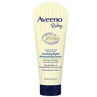 Kem dưỡng Aveeno Baby cho da khô và nhạy cảm 227g - 101016747 thumbnail