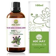 Tinh dầu Hương Nhu 100ml Mộc Mây - tinh dầu thiên nhiên nguyên chất 100% - chất lượng và mùi hương vượt trội - chuyên gia chăm sóc tóc hư tổn thumbnail