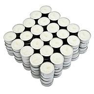 Nến tealight 100 viên không mùi dày 1.5cm cháy từ 4h-5h Bio Aroma thumbnail