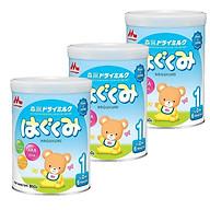 3 Hộp Sữa Bột Morinaga Hagukumi Dành cho trẻ Số 1 (850g) thumbnail