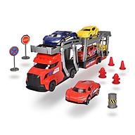Bộ Đồ Chơi Xe Kéo Kèm 5 Ô Tô Dành Cho Bé Yêu DICKIE TOYS City Transporter Set 203745012 - Đồ Chơi Đức Chính Hãng thumbnail
