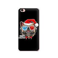 Ốp lưng dẻo cho điện thoại Vivo Y55 - 01116 7939 BULLDOG03 - Bulldog chúc mừng Giáng Sinh - Hàng Chính Hãng thumbnail