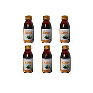 Combo 6 chai Siro tỏi đen KIMO I Tăng cường sức đề kháng thumbnail