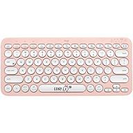 Logitech K380 multi-device Bluetooth keyboard LINE FRIENDS series-Kenny Rabbit thumbnail