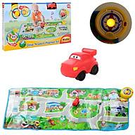 Thảm chơi đua xe có nhạc WINFUN 001288NL mô hình đường phố âm thanh phương tiện giao thông vui nhộn - phát triển trí tuệ - tặng đồ chơi tắm 2 món thumbnail