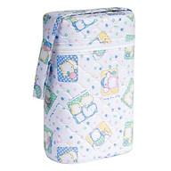 Bình ủ giữ nhiệt bình sữa đôi cho bé - Giao màu và họa tiết ngẫu nhiên thumbnail