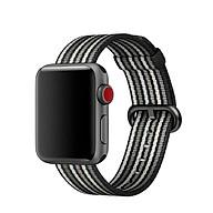 Dây đeo Apple Watch - Nylon Coteetci - Sọc nhiều màu thumbnail
