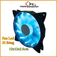 Quạt Tản Nhiệt, Fan Led 33 Bóng Đèn Led 12cm Tản Nhiệt Cho Case Máy Tính - Lung Linh Huyền Ảo thumbnail