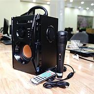 Loa karaoke di động công suất lớn Haoyes A1Z8, loa di động đa năng - Tặng kèm micro, điều khiển Hàng Nhập khẩu thumbnail